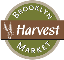 A logo of Brooklyn Harvest, Returns to Homepage